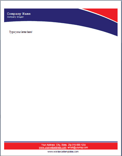Free Word Letterhead Templates 17 Pany Letterhead Templates Excel Pdf formats