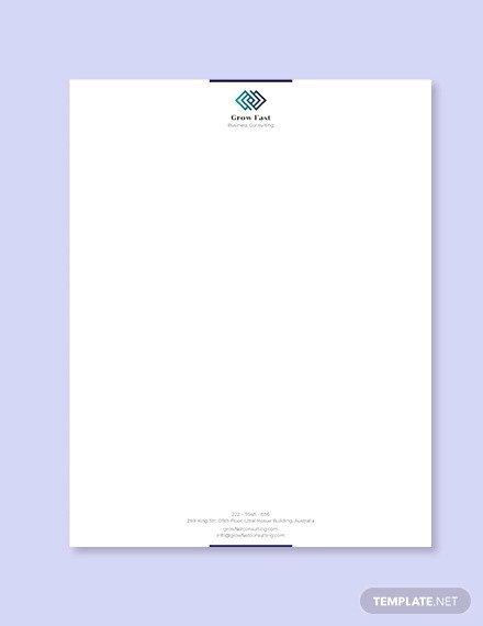 Free Word Letterhead Templates 55 Psd Letterhead Templates