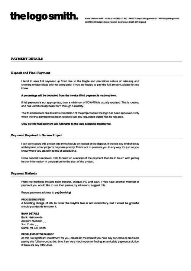 Freelance Graphic Design Contract Template Freelance Graphic Design Contract Template
