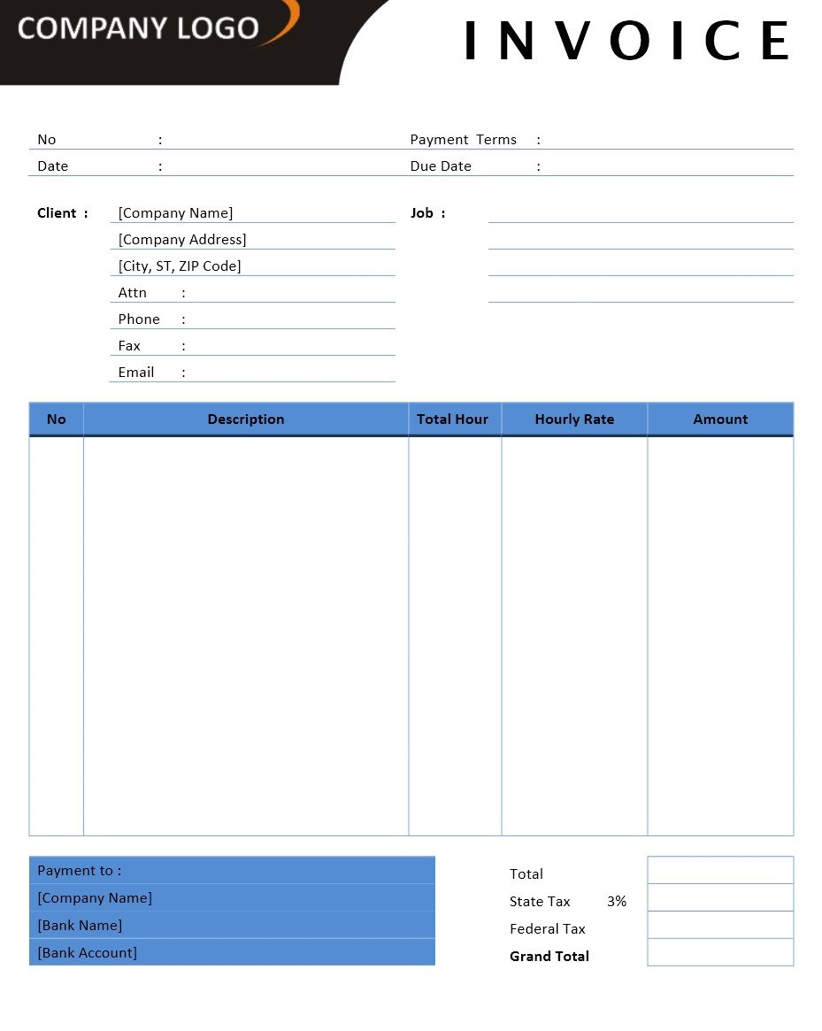 Freelance Invoice Template Microsoft Word Contractor Invoice Openoffice Template You Should