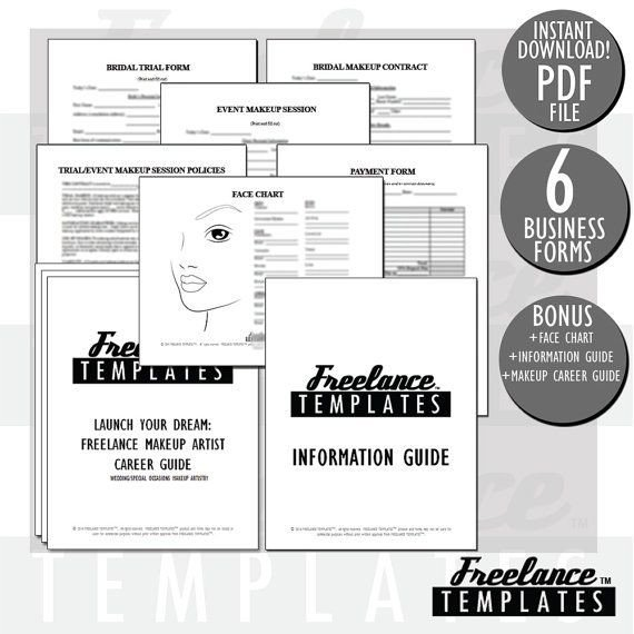 Freelance Makeup Artist Contract Template 15 Best Mua Contracts Images On Pinterest
