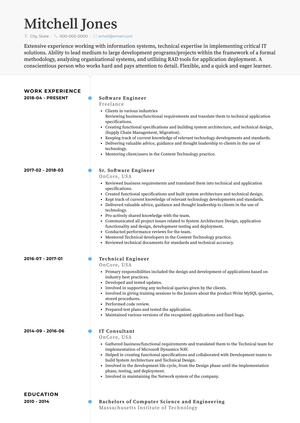 Freelance Writer Resume Sample Freelance Resume Samples