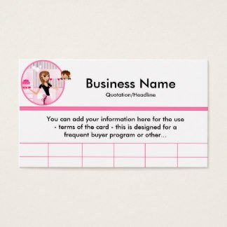 Frequent Buyer Card Template Frequent Buyer Business Cards & Templates