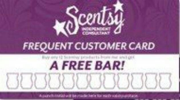 Frequent Buyer Card Template Frequent Customer Card Scentsy Pinterest
