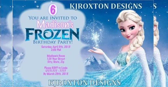 Frozen Birthday Invitations Cards 1000 Ideas About Free Frozen Invitations On Pinterest
