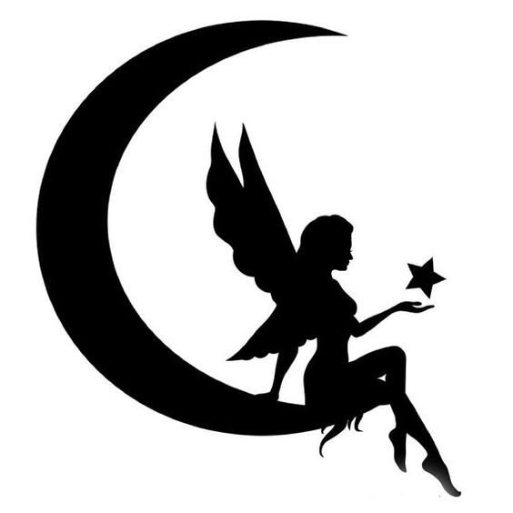 Fsu Pumpkin Carving Patterns Fairy Silhouette Vector Dxf File Free Download 3axis