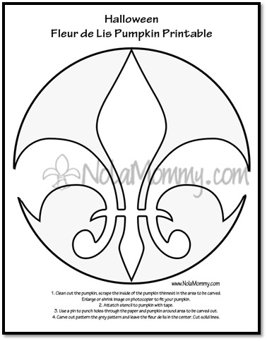 Fsu Pumpkin Carving Patterns Fleur De Lis & Lsu 1 Pumpkin Carving