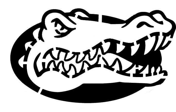 Fsu Pumpkin Carving Patterns Gators Stencil by Jan3090 683×433