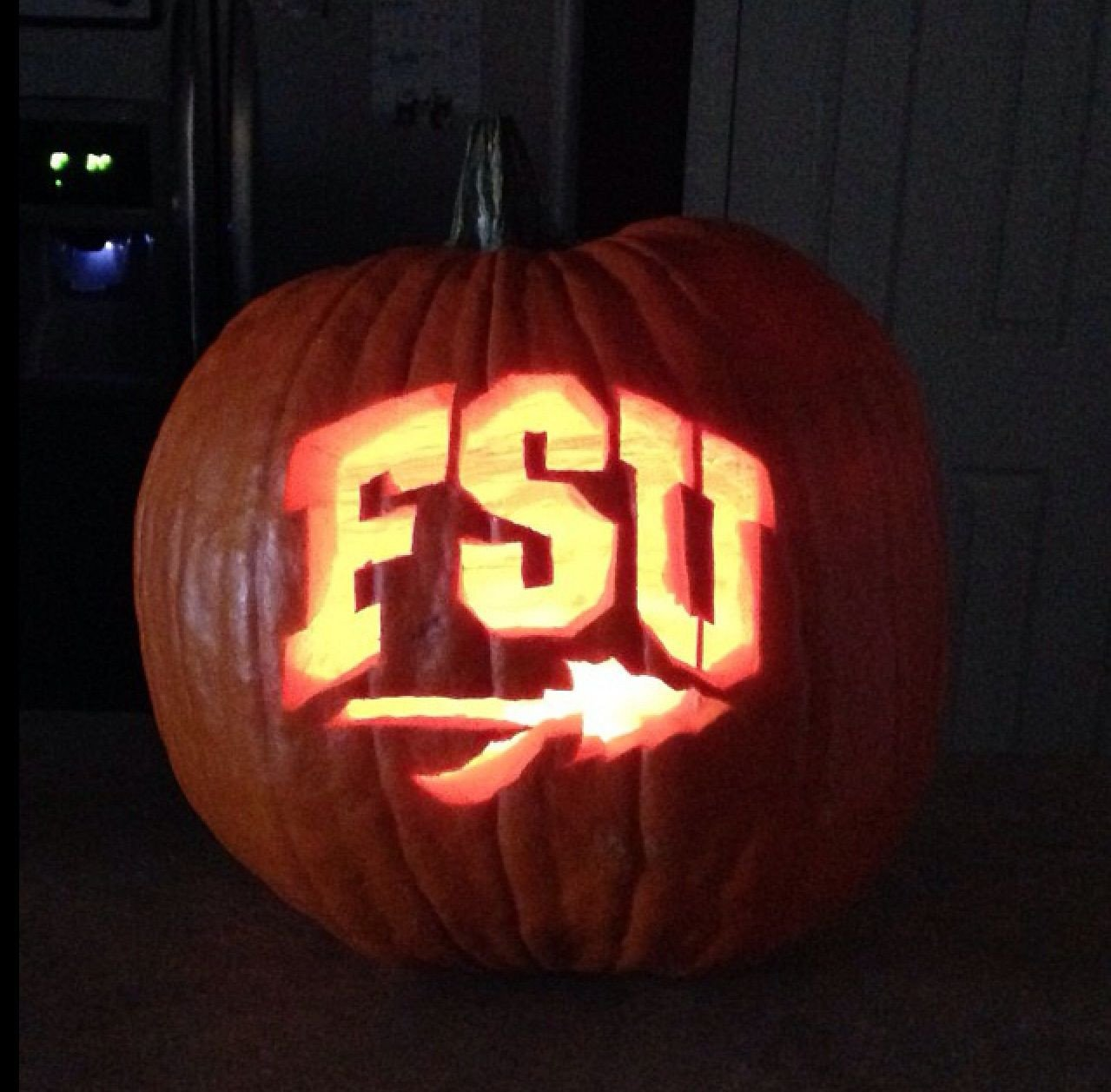 Fsu Pumpkin Carving Patterns Go Noles Halloween Fsu