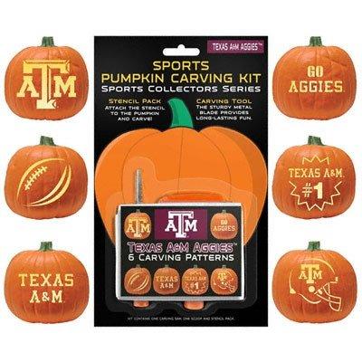 Fsu Pumpkin Carving Patterns Texas A Aggies Pumpkin Carving Kit