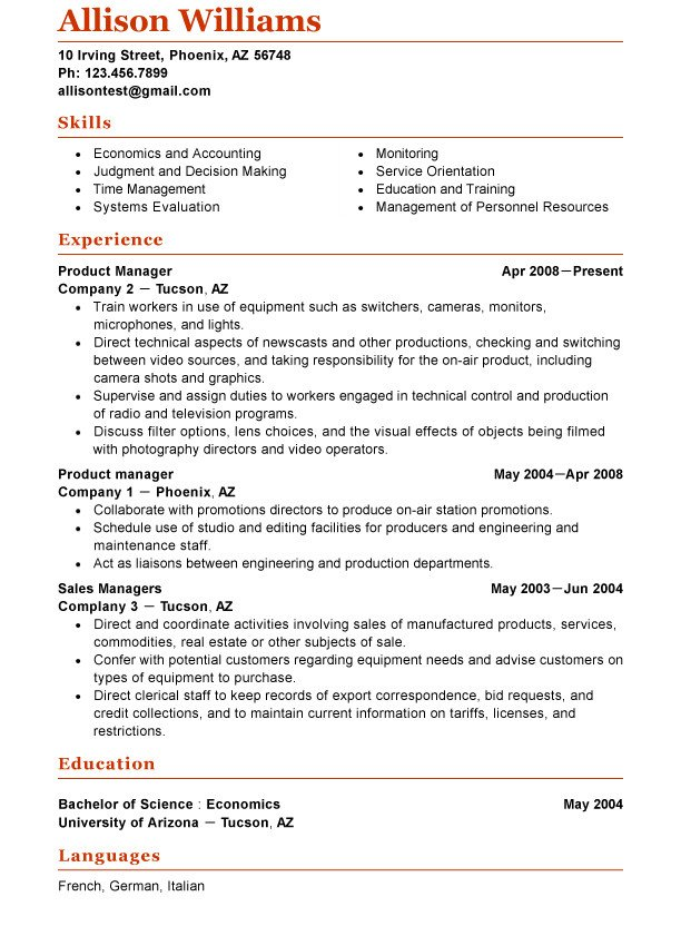 Functional Resume Templates Word 1000 Ideas About Functional Resume Template On Pinterest