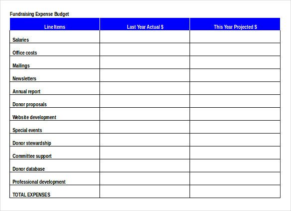 Fundraising Plan Template Excel 15 Fundraiser order Templates Ai Word