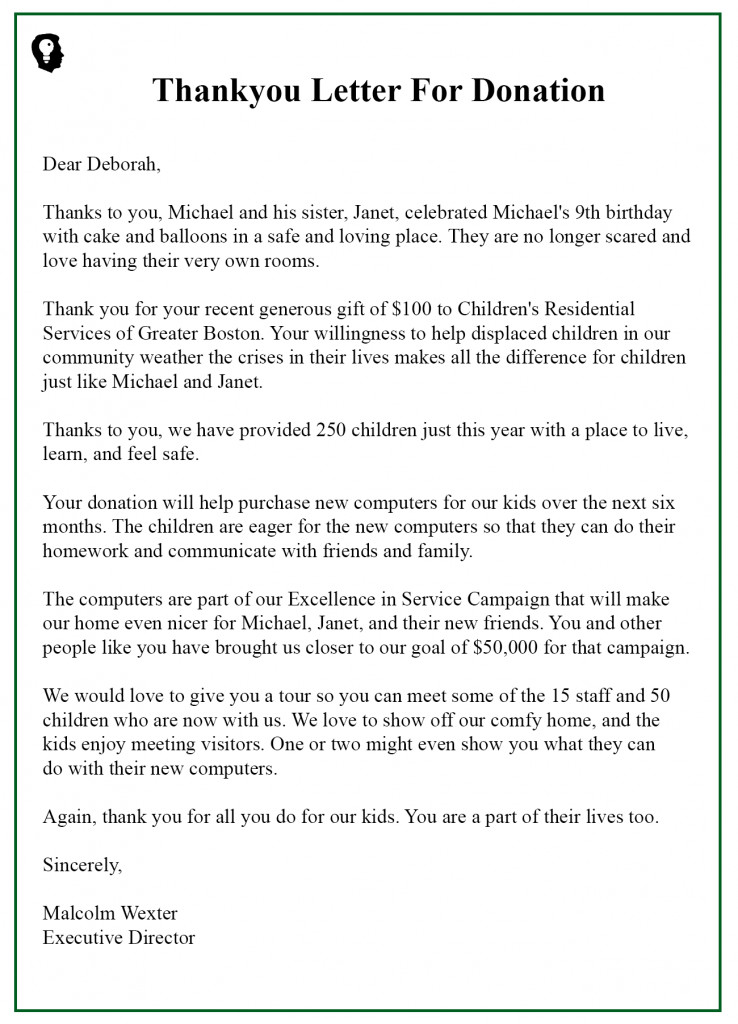 Fundraising Thank You Letter 99 Free Interview Thank You Letter Template Samples Best