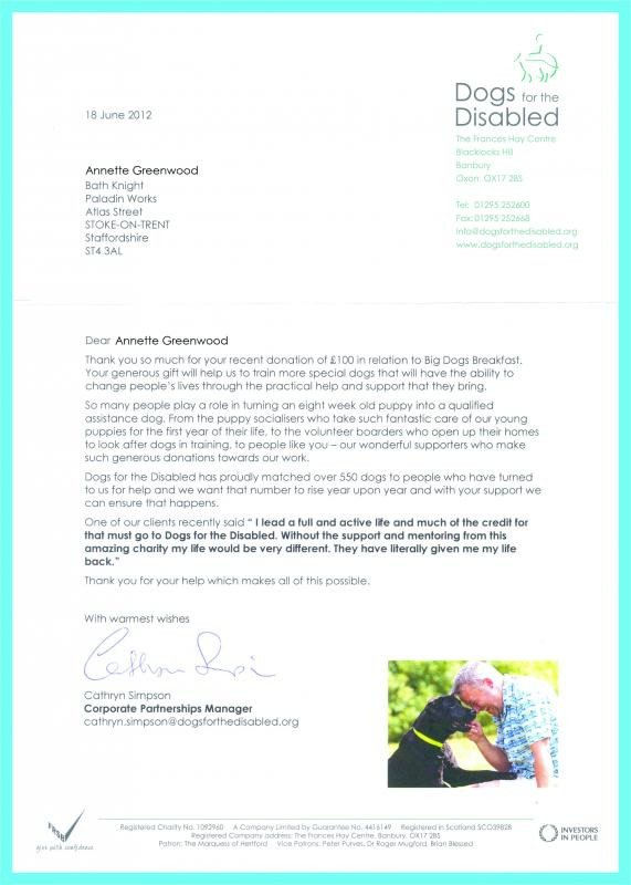 Fundraising Thank You Letter Fundraising Thank You Letter