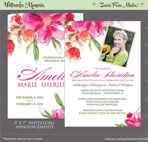 Funeral Announcement Template Free 14 Funeral Notices Psd Vector Eps
