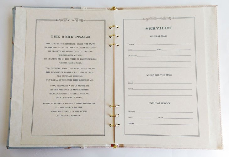Funeral Guest Book Template Funeral Sign In Book Willow Memorial Guest Book Funeral