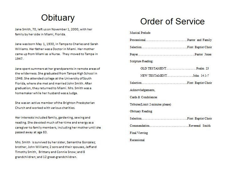 Funeral Mass Program Template the Funeral Memorial Program Blog Free Funeral Program