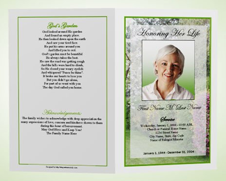 Funeral Pamphlet Template Free What is A Funeral Program Memorial Programs