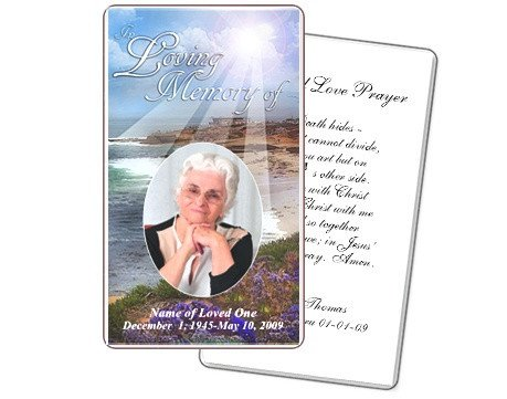 Funeral Prayer Cards Templates 10 Best Images About Prayer Cards and Templates On