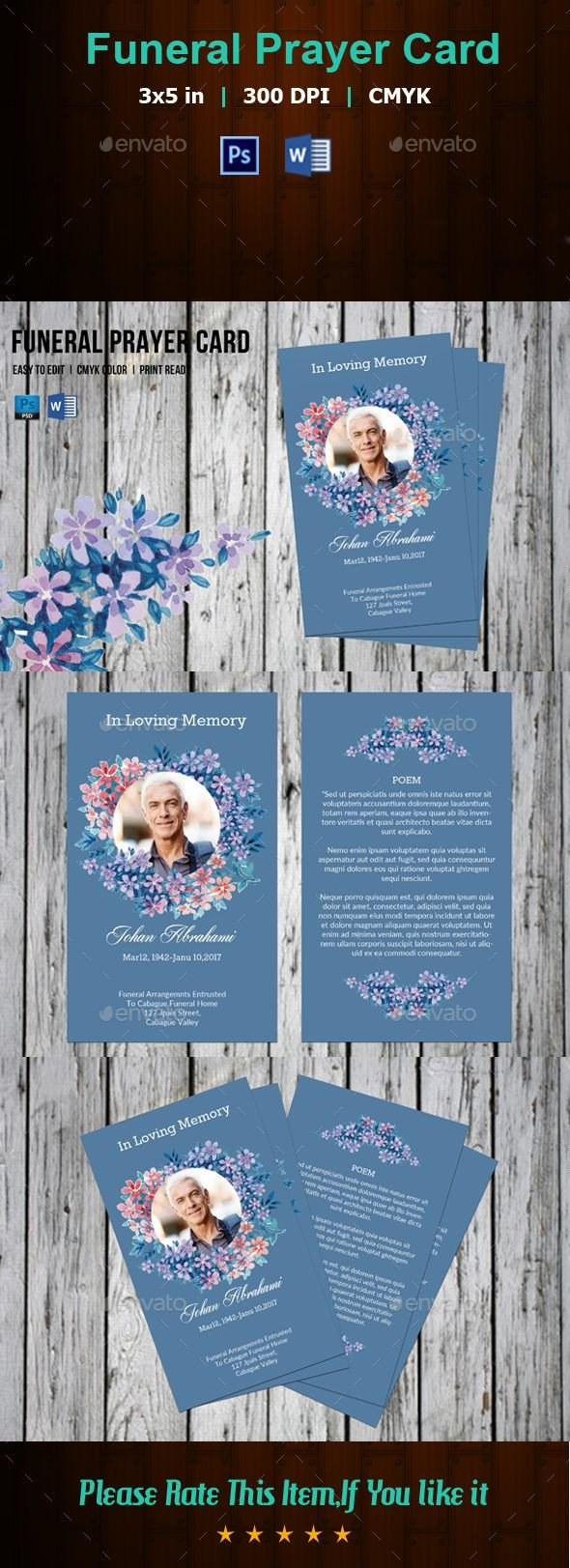 Funeral Prayer Cards Templates Best 25 Funeral Prayers Ideas On Pinterest