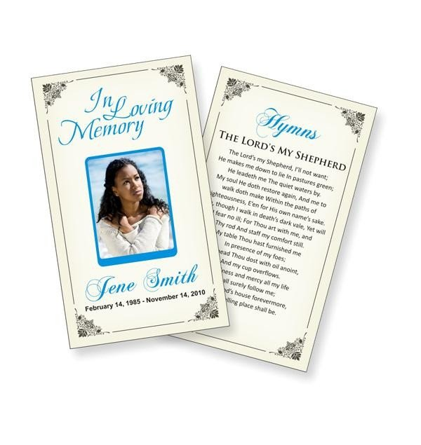 Funeral Prayer Cards Templates Funeral Prayer Cards Templates Funeral Ideas