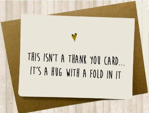Funny Thank You Notes Funny Thank You Card by Spicycards On Etsy
