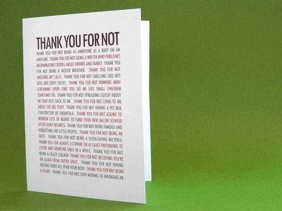 Funny Thank You Notes Unavailable Listing On Etsy
