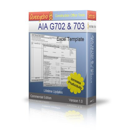 G702 form Excel Aia G702 and G703 Download Business