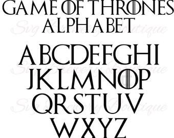 Game Of Thrones Fonts Game Of Thrones Card