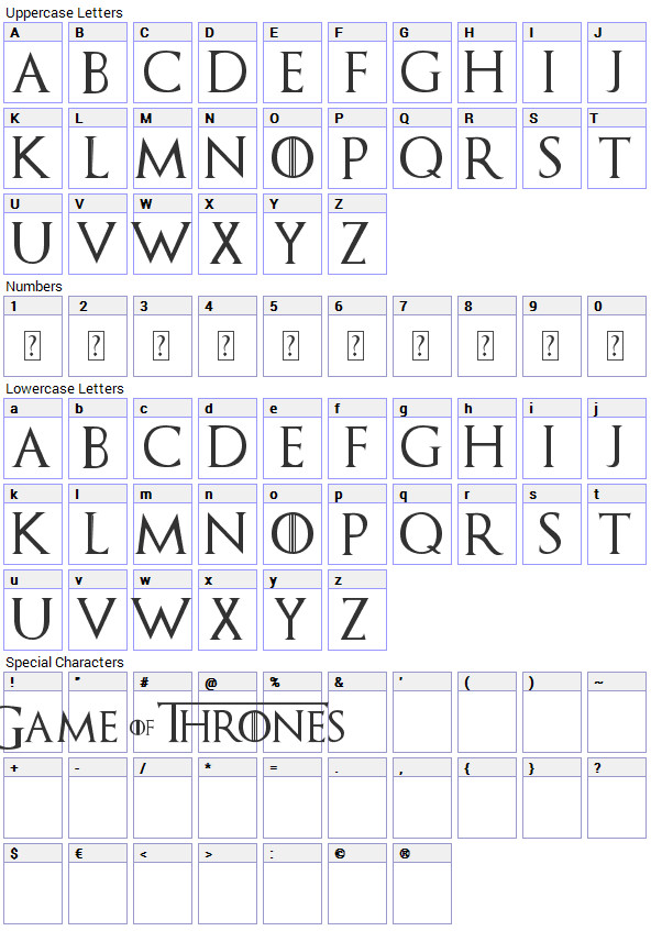 Game Of Thrones Fonts Game Of Thrones Font Download Fonts4free