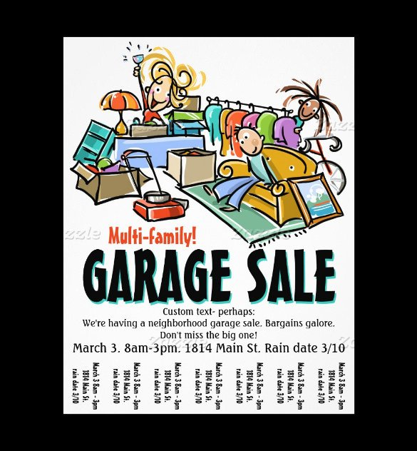 Garage Sale Flyer Template Free 21 Best Yard Sale Flyer Templates & Psd Word Eps
