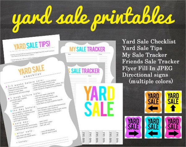 Garage Sale Flyer Template Free 27 Yard Sale Flyer Templates Psd Eps format Download