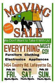 Garage Sale Flyer Template Free Garage Sale Flyer Templates