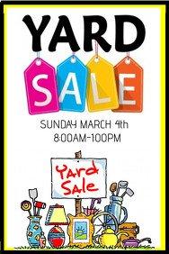 Garage Sale Sign Template Customize 690 Garage Sale Flyer Templates