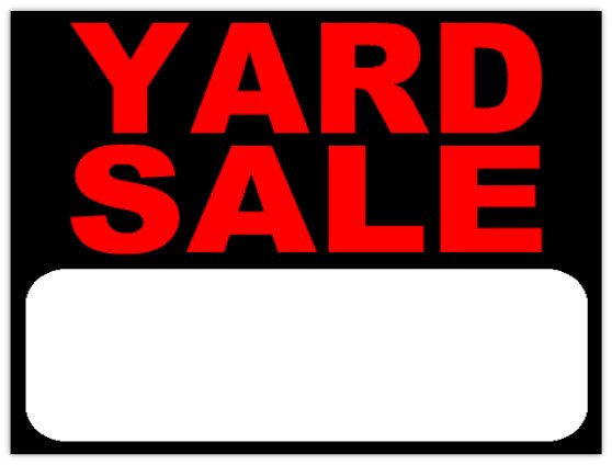 Garage Sale Sign Template Garage Sale 102