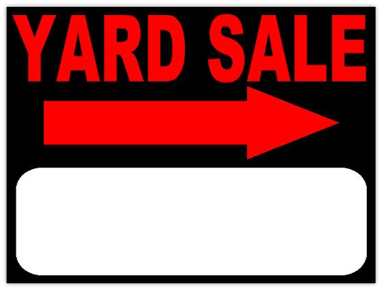 Garage Sale Sign Template Garage Sale 103