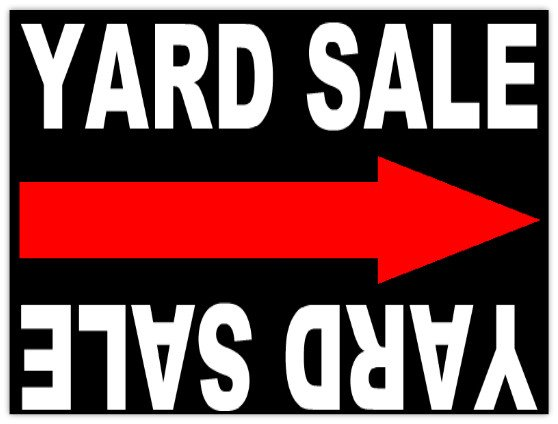 Garage Sale Sign Template Garage Sale 104