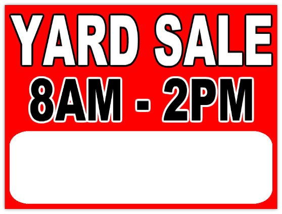 Garage Sale Sign Template Garage Sale 112