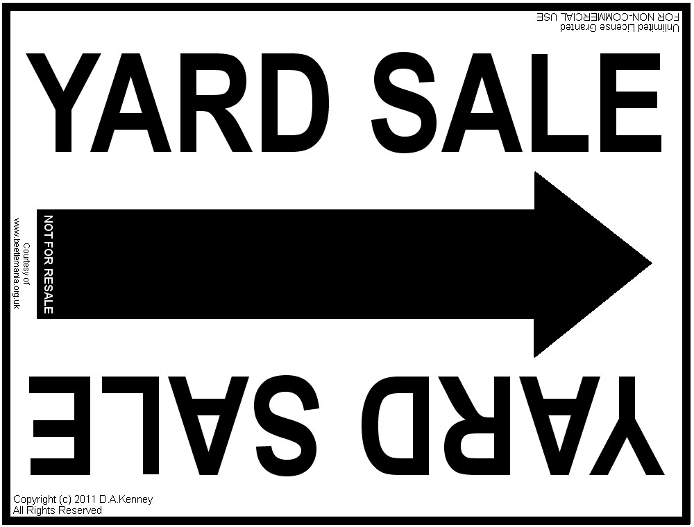 Garage Sale Sign Template the Ultimate How to Make A Yard Sale Sign Page