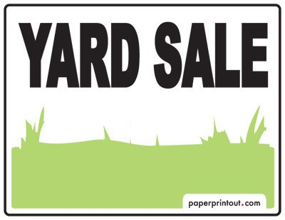 Garage Sale Sign Template Yard Sale Signs Download A Free Printable Sign