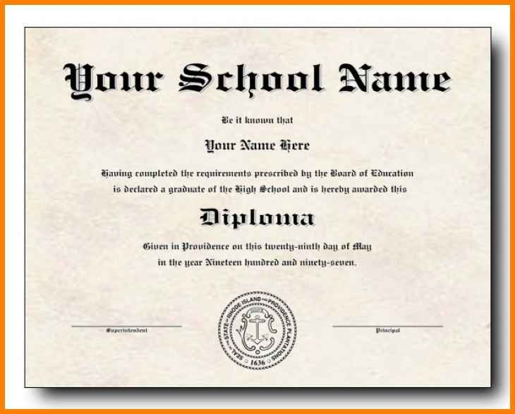 Ged Certificate Template Download 6 Editable Diploma Template