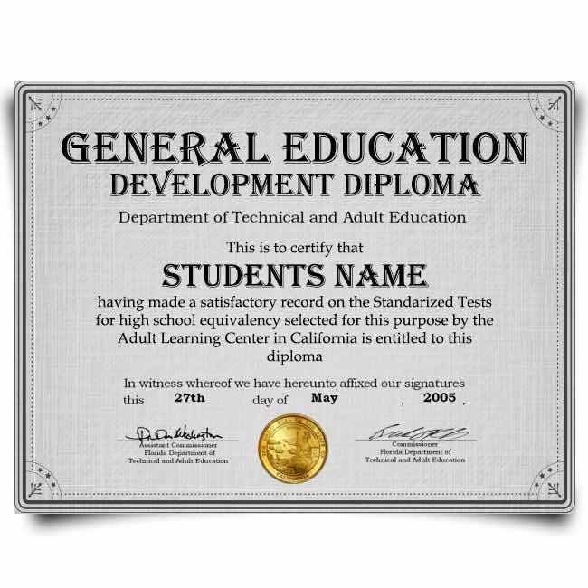Ged Certificate Template Download 7 Fake Ged Transcripts Free Download Word Pdf format