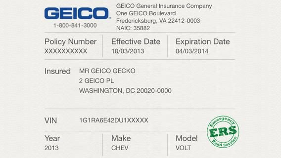 Geico Insurance Card Template Download Car Insurance Cards Printable Car Insurance Cards