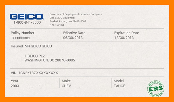 Geico Insurance Card Template Download Insurance Card Template Ten thoughts You Have as Insurance