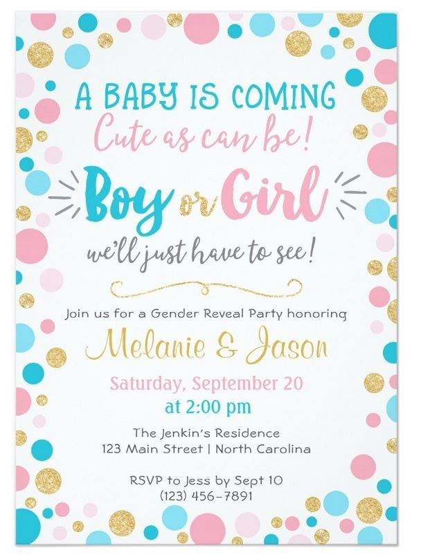Gender Reveal Invitation Wording Best 25 Gender Reveal Invitations Ideas On Pinterest