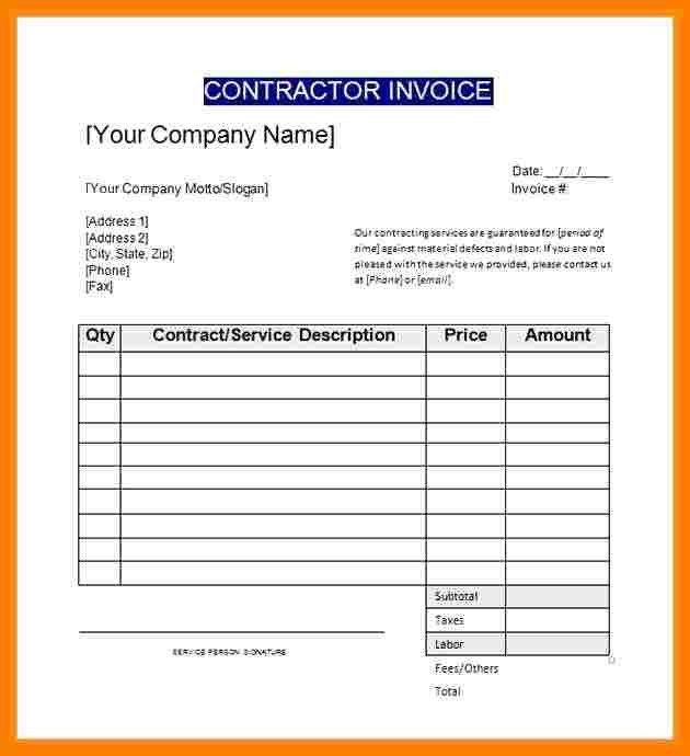 General Contractor Checklist Template General Contractor Checklist Template Idealstalist