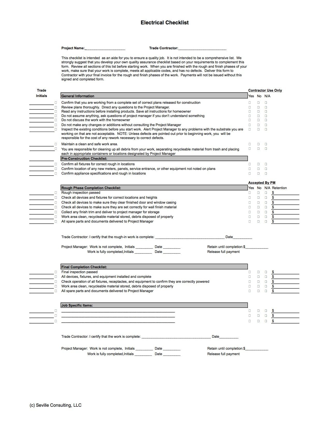 General Contractor Checklist Template Index Of Cdn 13 1990 840