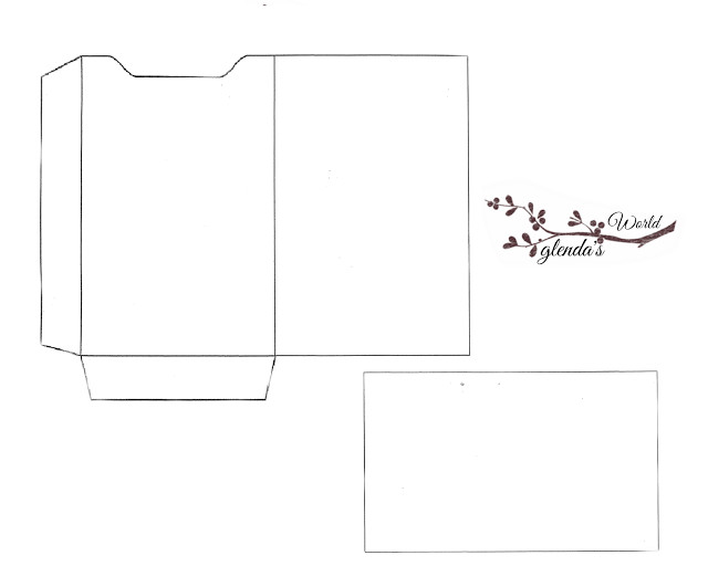 Gift Card Envelope Template Christmas Gift Card Sleeve with Card