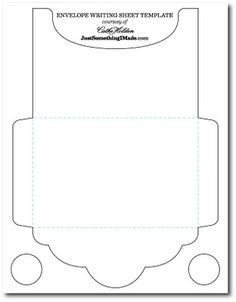Gift Card Envelope Template Preprint On Pinterest