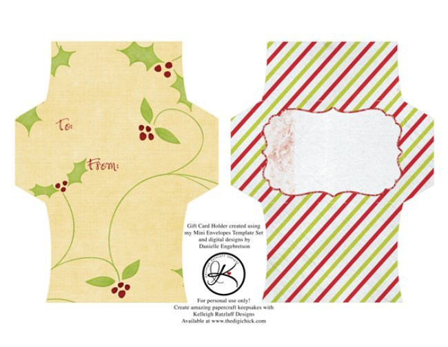 Gift Card Envelope Templates 13 Free Printable Envelope Templates – Tip Junkie